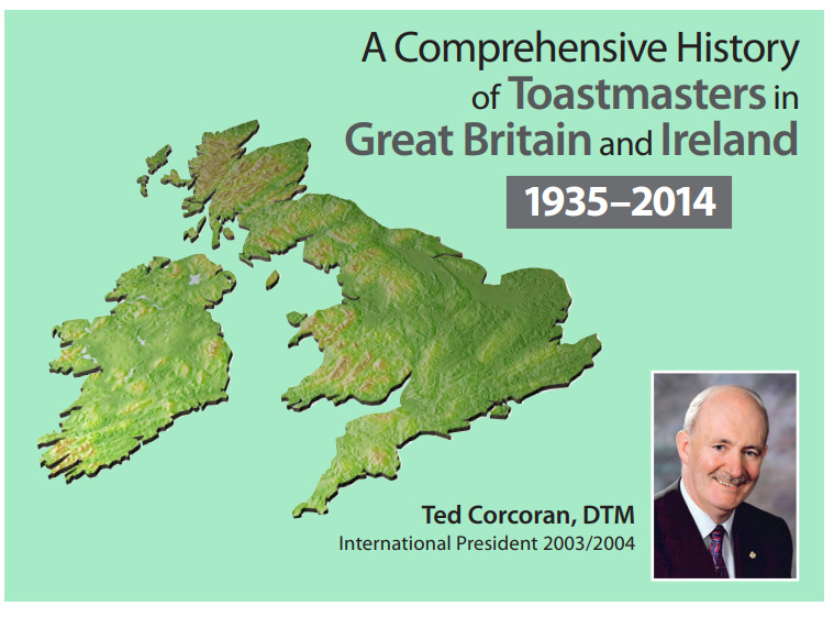Publication - history of ToastMasters in Great Britain and Ireland