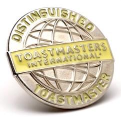 Distinguished toastmaster