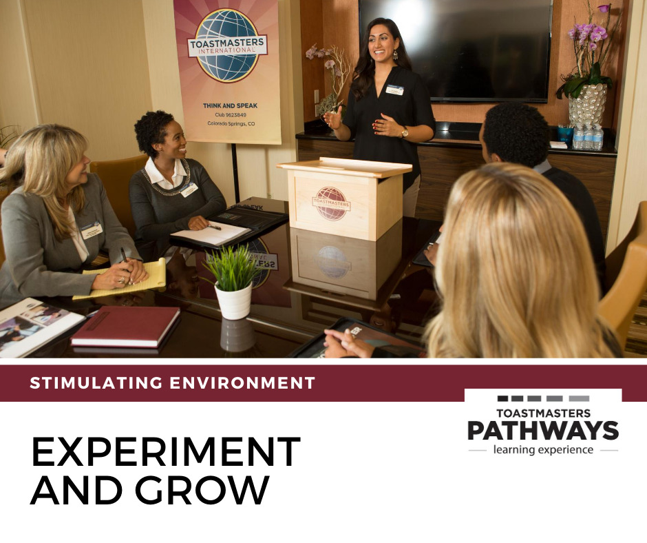 Pathways experiment and grow