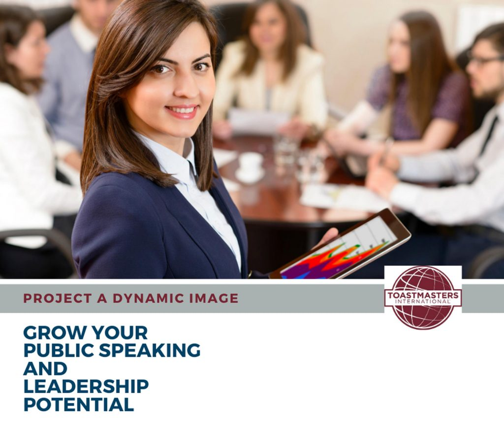 Grow your public speaking and leadership Potential